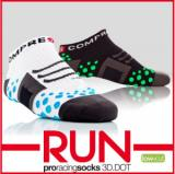 Compressport Pro Racing Run Socks - Low