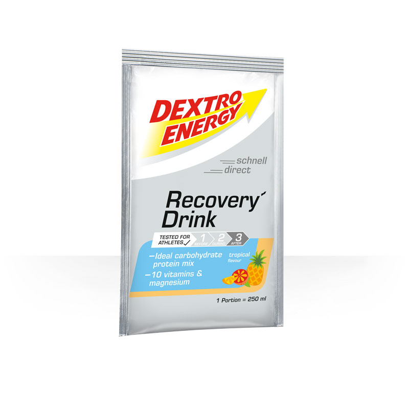 DEXTRO ENERGY Recovery DrinkTropical box 14x44.5g
