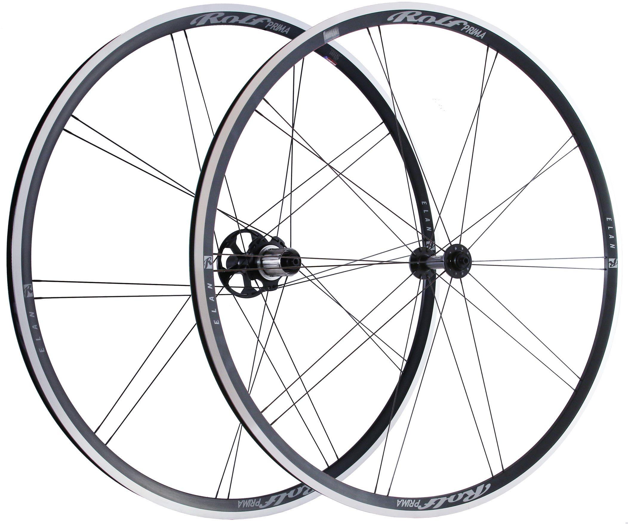 Rolf PRIMA - Elan - velmi lehká závodní plášťová zapletená kola s nízkým, 23mm Rolf PRIMA - Elan - velmi lehká závodní plášťová zapletená kola s nízkým, 23mm