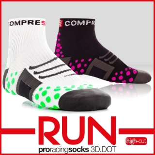 Compressport Pro Racing Run Socks - High