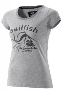sailfish Womens Lifestyle T-Shirt grey