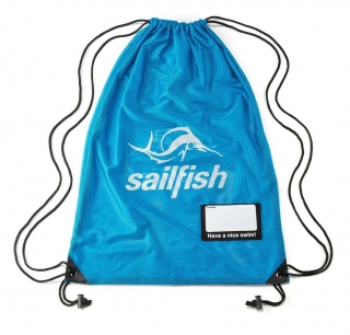 Sailfish - Mesh bag - modrý